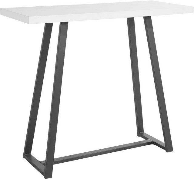 Barmöbel - Bartisch »Fabio«, Gestell schwarz, Höhe 105 cm, Höhe bis Tischunterkante 100,7 cm  - Onlineshop OTTO