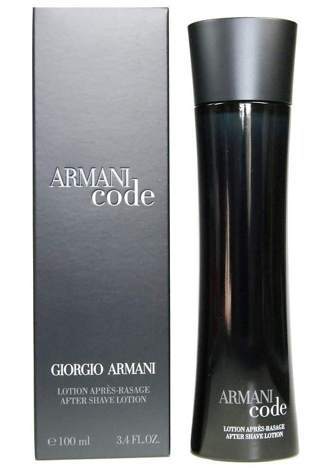 Giorgio Armani, »Code Homme«, Aftershave