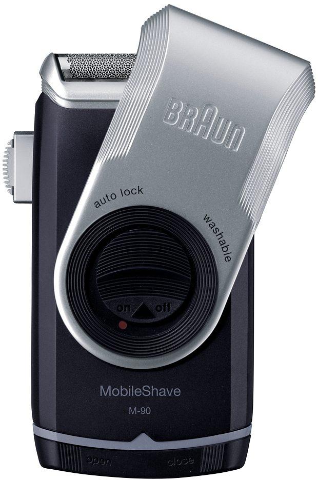 Braun Rasierer M90, PocketGo MobileShave Reiserasierer