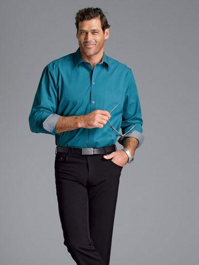 Men Plus by HAPPYsize Langarmhemd Spezialschnitt