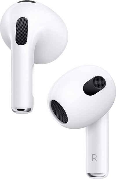 Apple »AirPods (3. Gen. 2021) mit MagSafe Ladecase« In-Ear-Kopfhörer (Freisprechfunktion, Sprachsteuerung, Siri, Bluetooth)