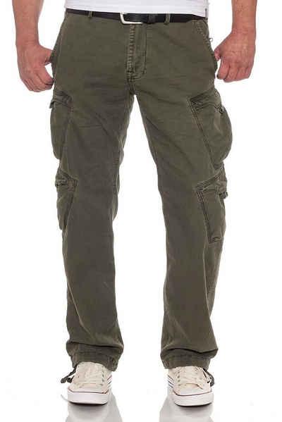 Jet Lag Cargohose »mit flachen Taschen« Loose Fit