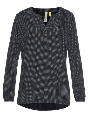 Alife & Kickin Druckbluse »DaisyAK« süße Bluse aus reiner Viskose mit Allover-Print