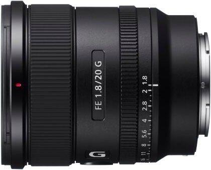 Objektive - Sony »SEL20F18G« Weitwinkelobjektiv, (Vollformat E Mount (FE 20mm F1.8, Ultraweitwinkel)  - Onlineshop OTTO
