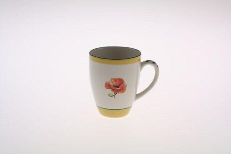 Zeller Keramik Milchkaffee Obertasse »Kornfeld« in Mehrfarbig