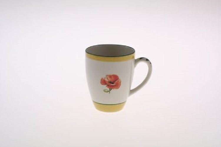 Zeller Keramik Milchkaffee Obertasse »Kornfeld«