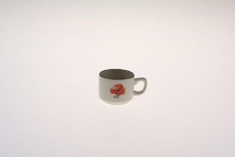 Zeller Keramik Espresso-Obertasse »Kornfeld« in Mehrfarbig