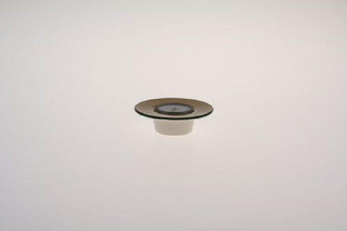 Zeller Keramik Teelichthalter mit weißem Teelicht »Kornfeld«