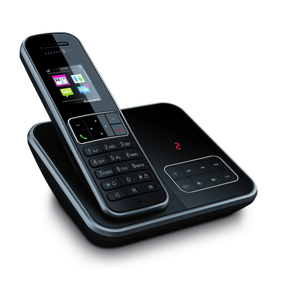 Telekom Telefon »Sinus A 406« in Schwarz