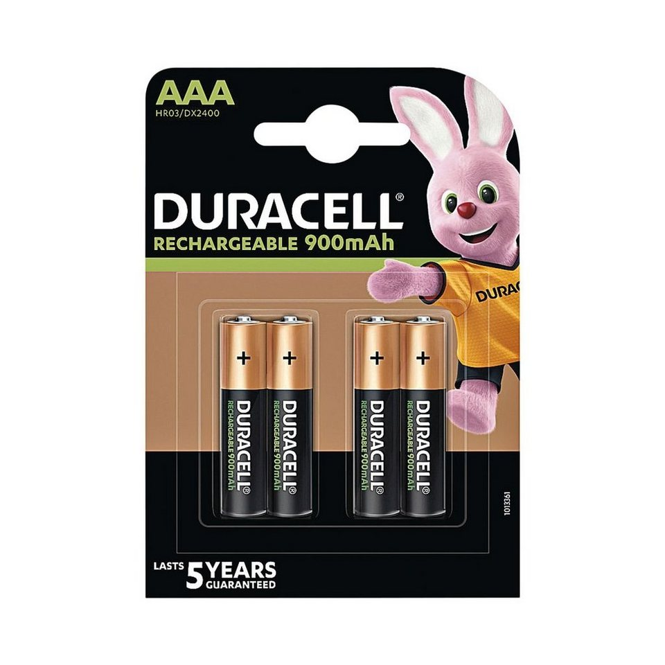 duracell akkus micro aaa hr3 precharged inhalt pro pack 4 st ck online kaufen otto. Black Bedroom Furniture Sets. Home Design Ideas