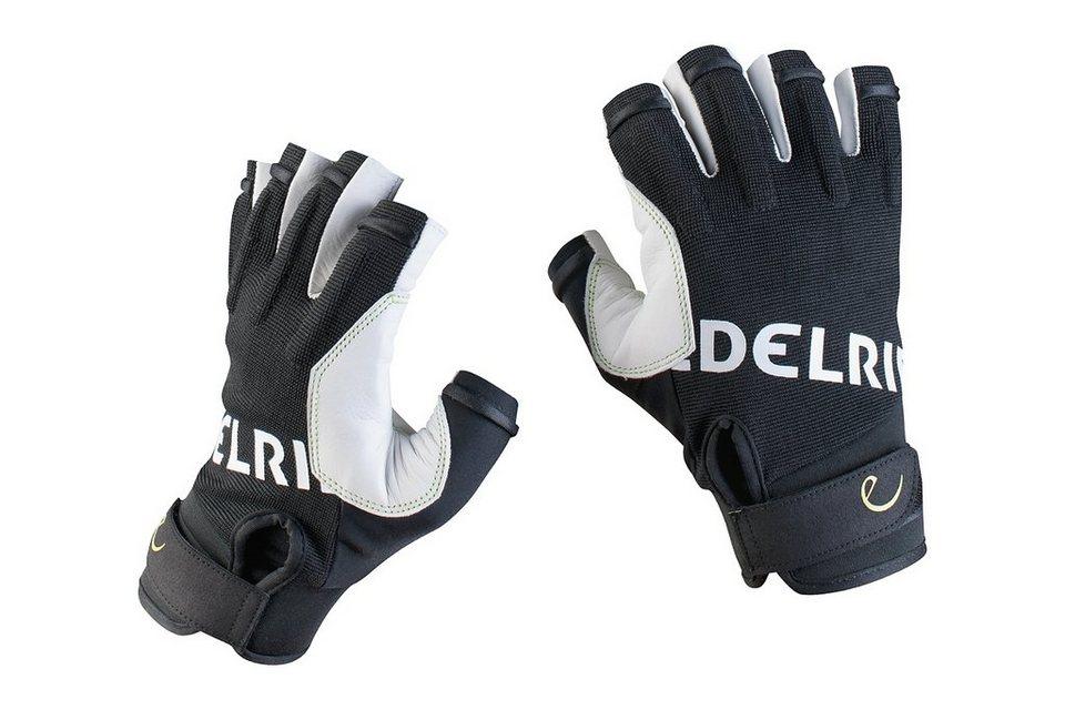 Edelrid Klettersteighandschuhe »Work Open Gloves« in schwarz