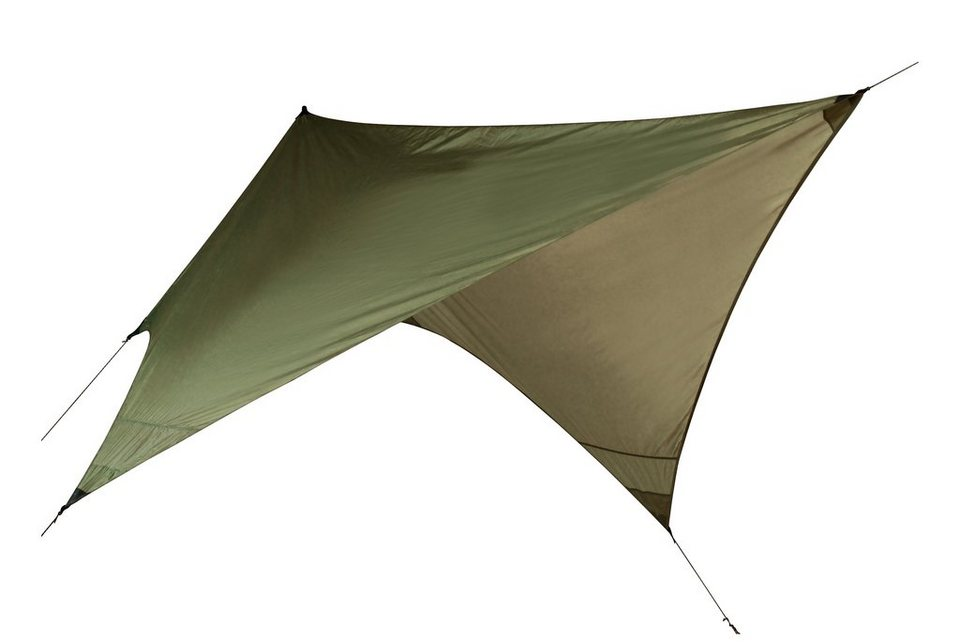 Nordisk Zelt »Voss Diamond Tentwing PU Tarp« in grün