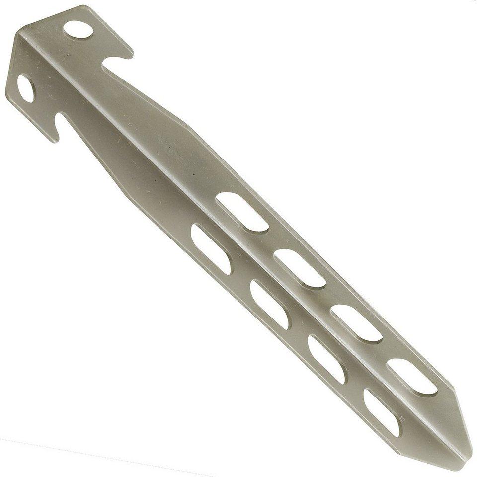 Nordisk Zeltzubehör »Titanium V-Peg 15g, 2 Pcs« in grau