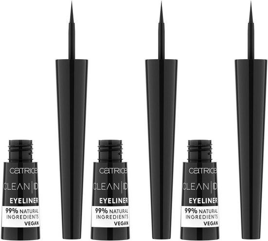 Catrice Eyeliner »Clean ID«, 3er-Pack