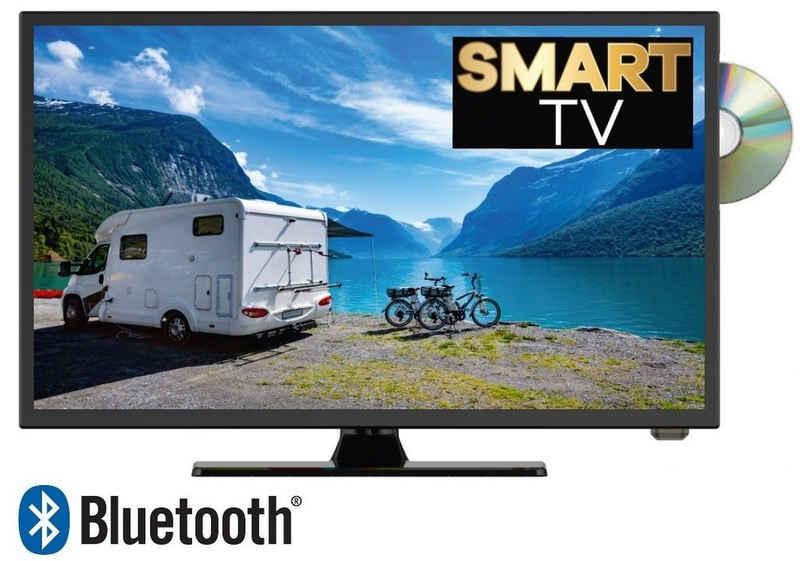 Reflexion LDDW22i+ LED-Fernseher (55,00 cm/22 Zoll, Full HD, Smart-TV, Bluetooth, integrierter DVD-Player)