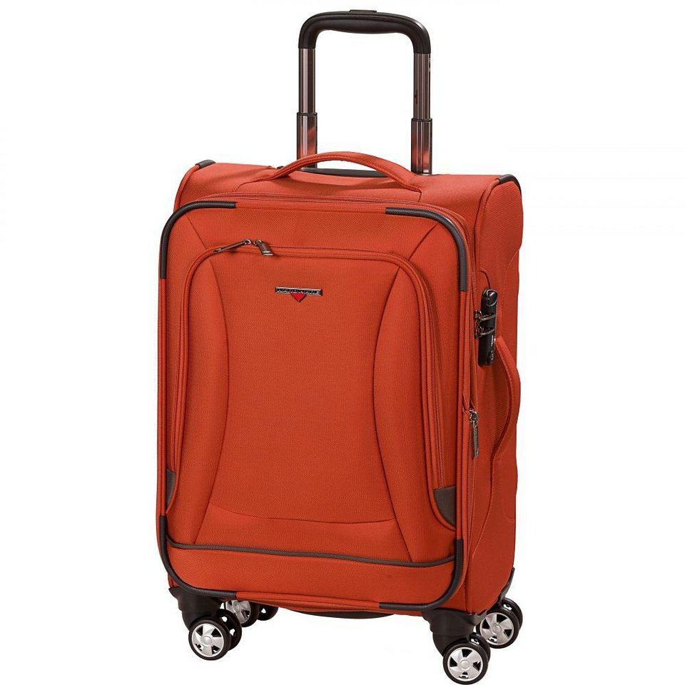 Hardware O-Zone Trolley 4-Rollen 57 cm in orange-grey