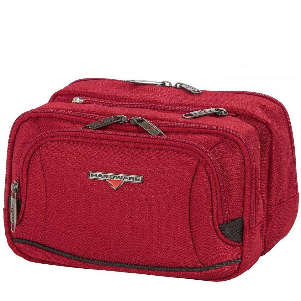 Hardware O-Zone Double Travel Kit 25,5 cm in red-black