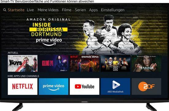 Grundig 49 VOE 82 - Fire TV Edition TPY000 LED-Fernseher (123 cm/49 Zoll, 4K Ultra HD, Smart-TV)