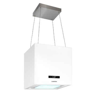 Klarstein Inselhaube Kronleuchter Smart Inselabzugshaube 595m³/h App-Steuerung LED-Panel