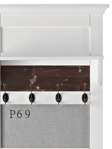 heine home Garderobenpaneel mit 7 Doppelhaken