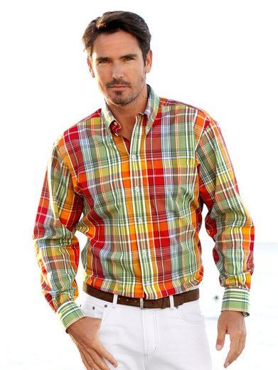Babista Langarmhemd in sommerlichem Farbmix