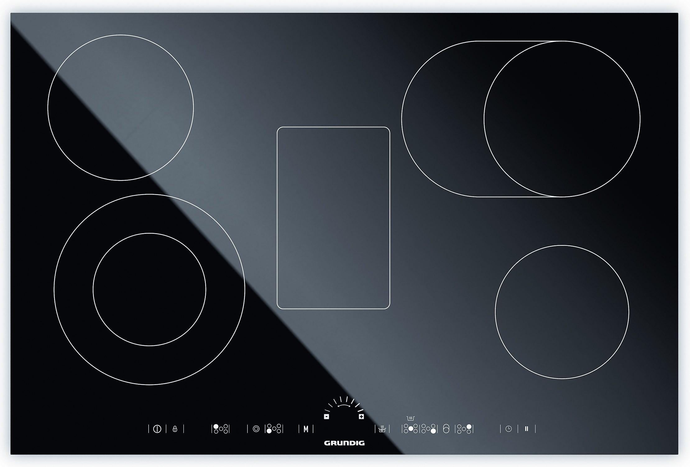Grundig Glaskeramik-Kochfeld von Schott Ceran® GIEV 835540 N