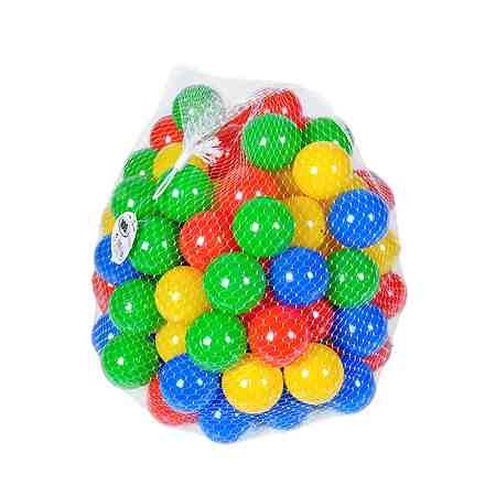 100 bunte Bälle für Bällebad, knorr toys