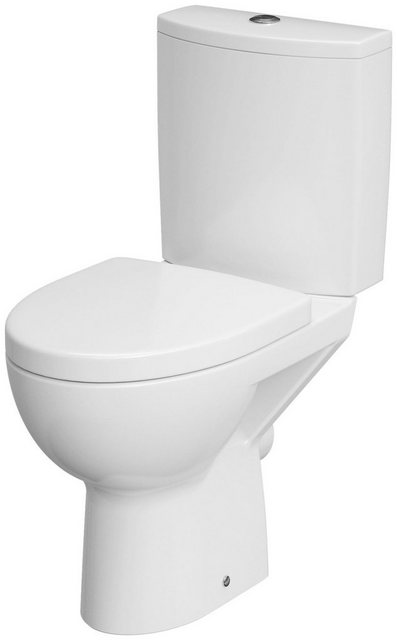 WCs und Zubehör - Cornat Komplett Set Stand WC »Montego spülrandlos«  - Onlineshop OTTO