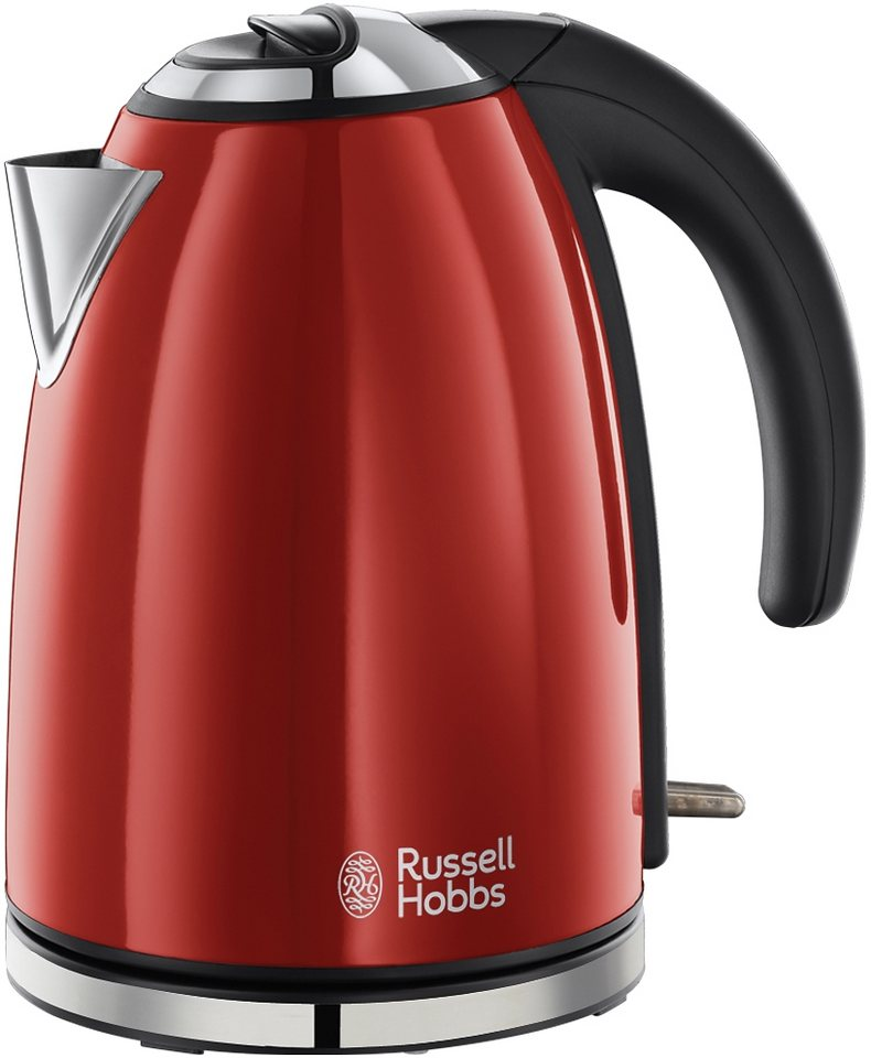 russell hobbs wasserkocher colours plus flame red 18941 70 online kaufen otto. Black Bedroom Furniture Sets. Home Design Ideas