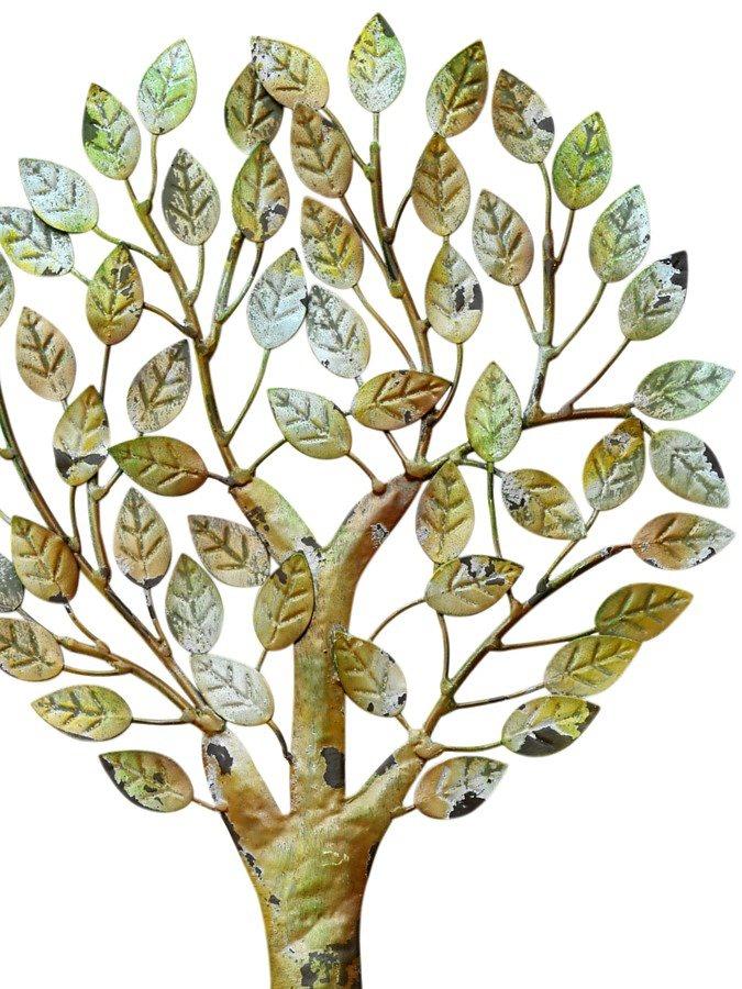Wand-Deko Baum in grün