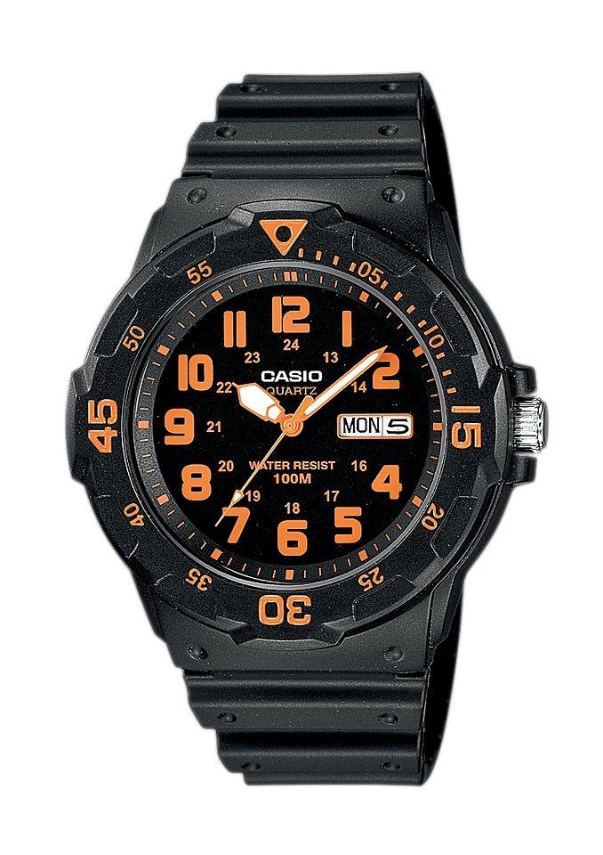 """Casio Collection, Armbanduhr, """"MRW-200H-4BVEF"""" in schwarz"""