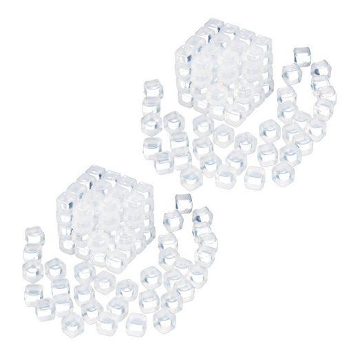 relaxdays Eiswürfelform »200 x Wiederverwendbare Eiswürfel«