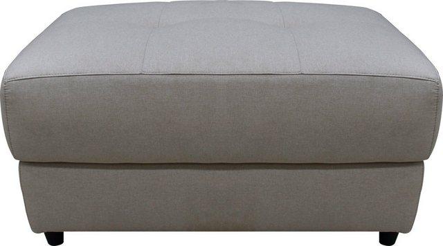 Sessel und Hocker - Home affaire Polsterhocker »Sentrano«, in 4 hochwertigen Bezugsqualitäten erhältlich, mit komfortablen Federkern, Gesamtbreite 99 cm  - Onlineshop OTTO