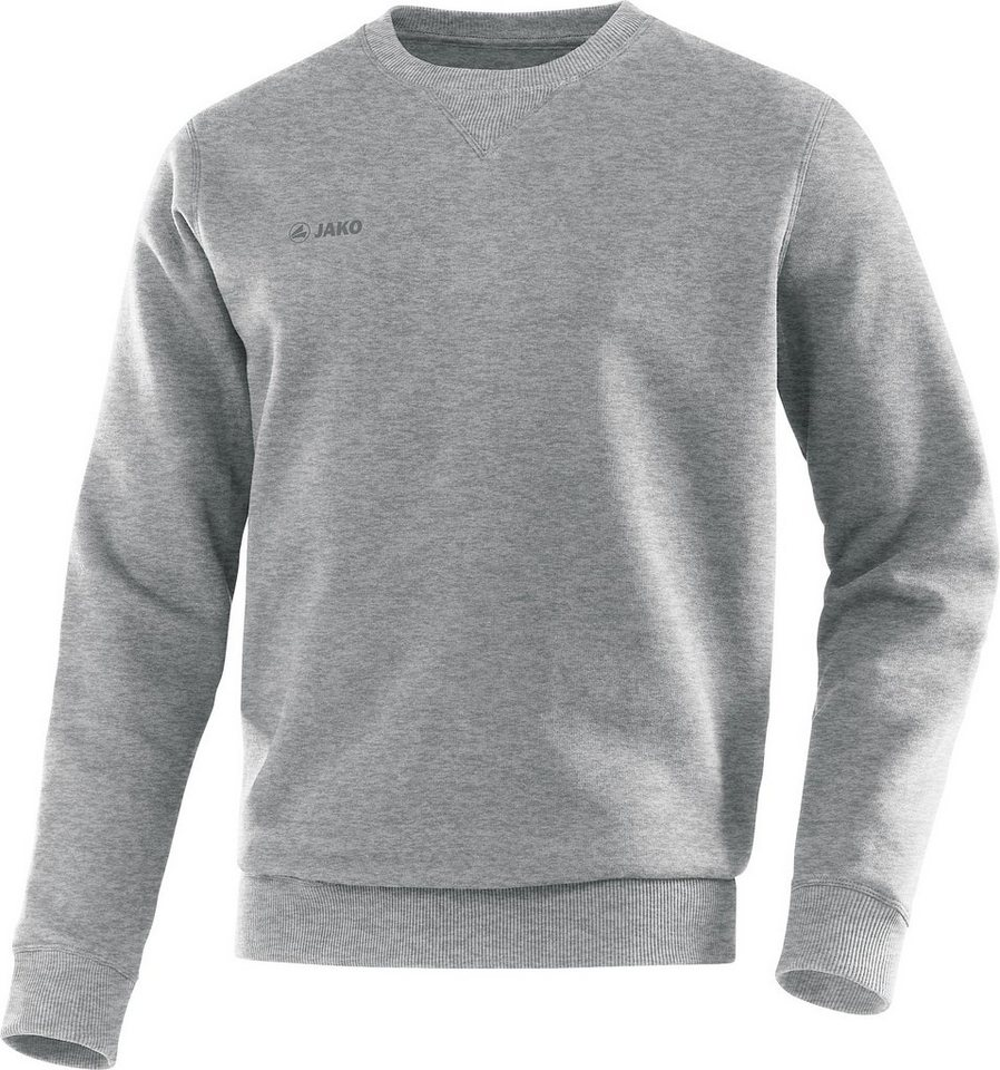 JAKO Sweat Basic Herren in grau meliert