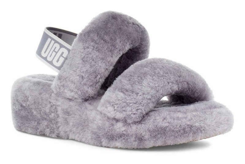 UGG »OH YEAH« Sandale mit stylischem Fersenriemchen
