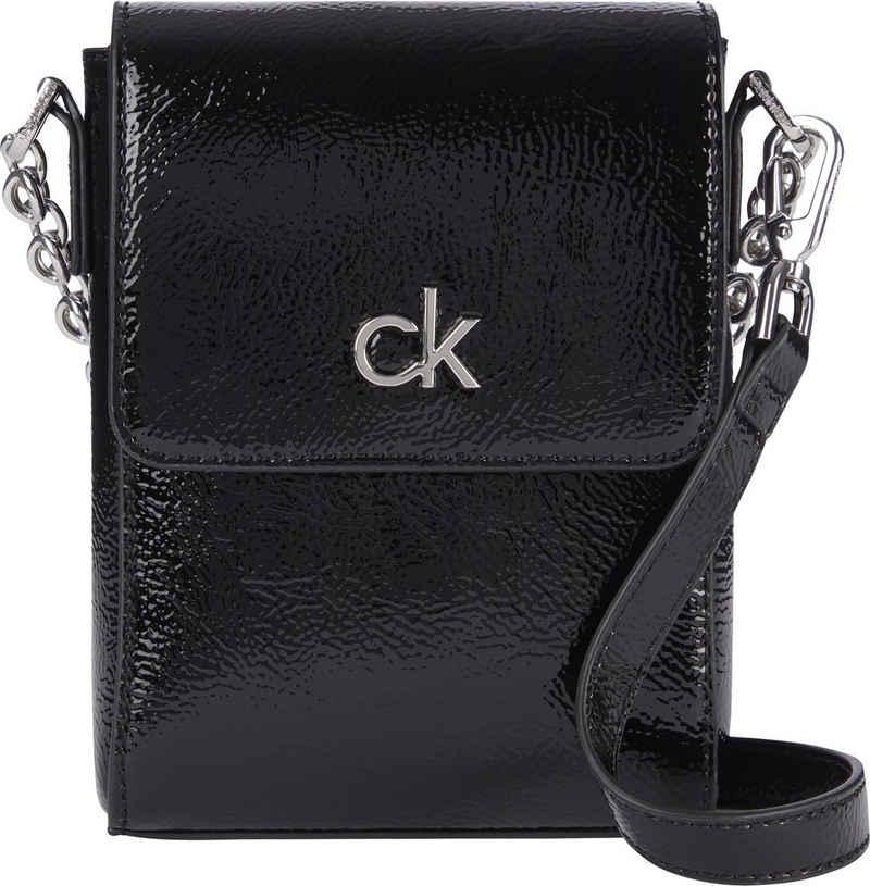 Calvin Klein Mini Bag »NS MINI BAG W/FLAP PATENT PU«
