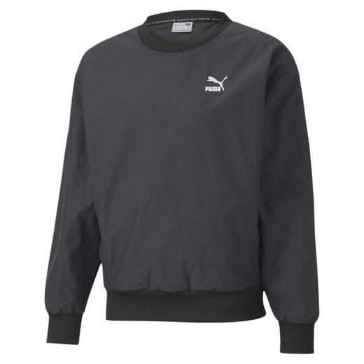 PUMA Sweater »Classics Herren Gewebtes Sweatshirt«