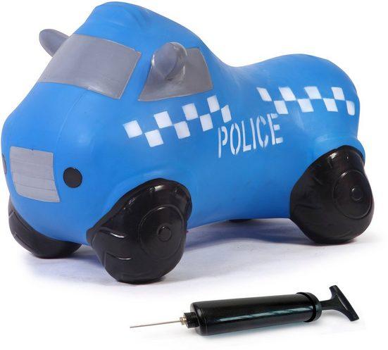 Jamara Hüpftier »Police Truck«, inkl. Luftpumpe