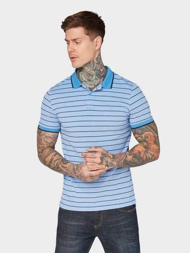 TOM TAILOR Denim Poloshirt »Gestreiftes Poloshirt«