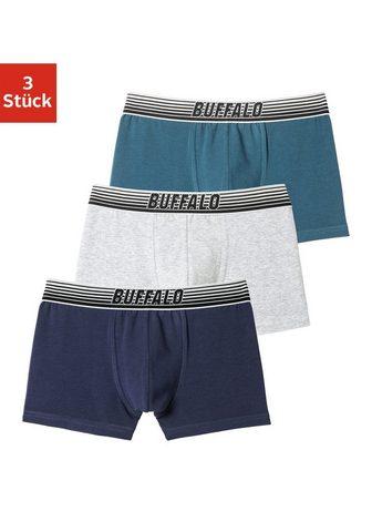 Buffalo Kelnaitės šortukai (3 vienetai) su Gla...