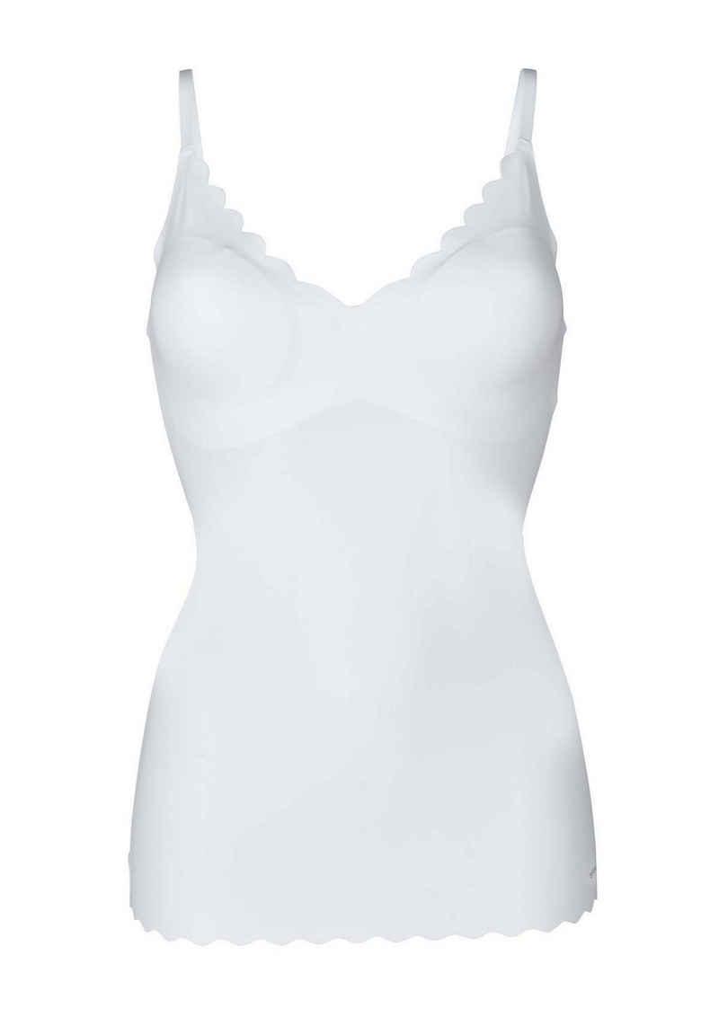 Skiny T-Shirt »Damen Spaghetti-Shirt - Top, V-Ausschnitt, Pads,«