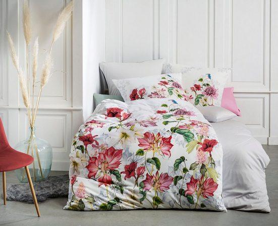 Wendebettwäsche »Bed Art 4129«, fleuresse, mit eindrucksvoller Blütenpracht