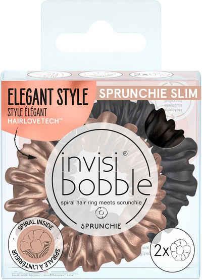 invisibobble Spiral-Haargummi »SPRUNCHIE SLIM«, Spar-Set, 2-tlg.