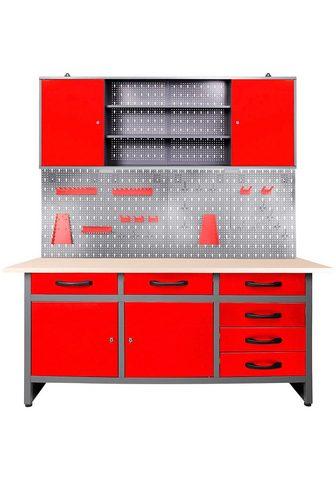 ONDIS24 Werkstatt-Set »Karsten« (Set) 160 cm s...