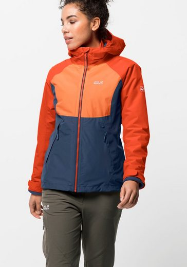 Jack Wolfskin 3-in-1-Funktionsjacke »MOUNT ISA 3IN1 W«