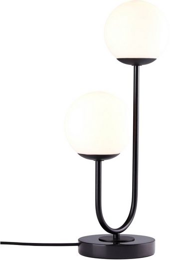 elbgestoeber Tischleuchte »elblicht«, Tischlampe mit Kugeln aus Opalglas, Fuß aus hochwertigem Marmor