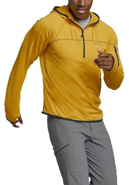 Eddie Bauer Fleeceshirt High Route Grid mit Kapuze   Bekleidung > Pullover > Fleecepullover   Eddie Bauer