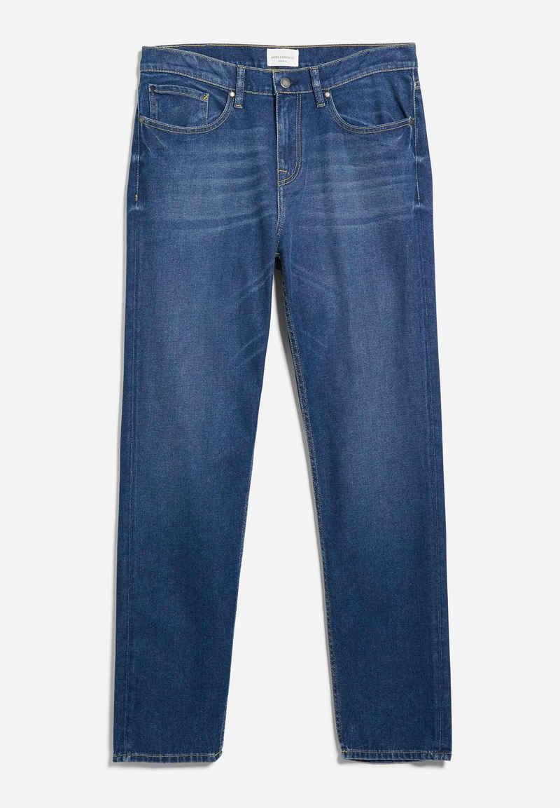 Armedangels Tapered-fit-Jeans »AARO Herren Tapered Fit Denim Regular Fit« (1-tlg)