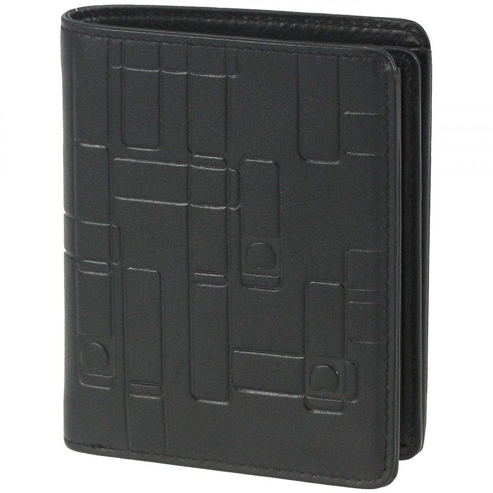 Delsey Echappée Geldbörse Leder 8,8 cm in schwarz