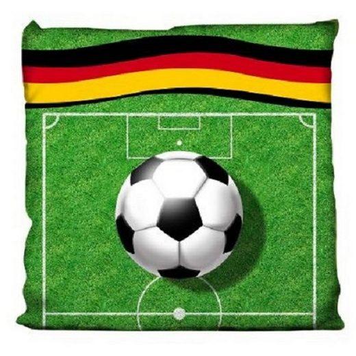 One Home Dekokissen »Fußballfeld«, mit Füllung